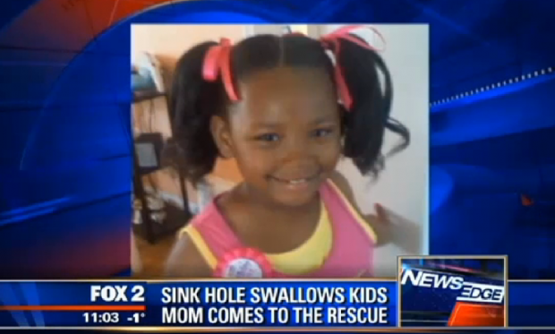 sinkhole, sinkhole detroit 2014, sinkhole swallows children in detroit, detroit sinkhole swallows kids january 2014, sinkhole news january 2014, detroit sinkhole news january 2014, sinkhole detroit kid january 2014, sinkhole swallows kids in detroit video, video of sinkhole swallowing kids in detorit January 2014, Sinkhole swallows kids in Detroit and mother recues her january 2014, kids swallowed by sinkhole in detroit january 28 2014, january 28 2014 sinkhole video news, detroits sinkhole news: kids swallowed by sinkhole and rescued by mother, sinkhole swallows kids in detroit January 28 2014, Sinkhole swallows kids in detroit January 28 2014. Photo: Fox2.com