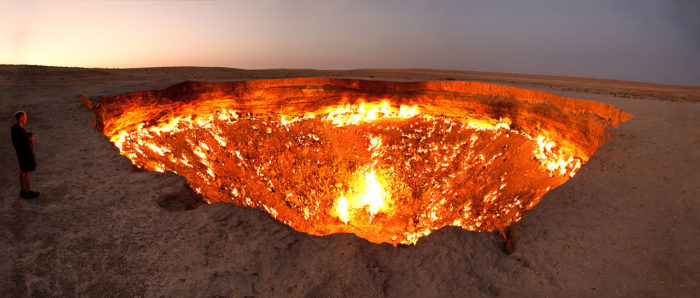 the door to hell, the door to hell sinkhole, the door to hell sinkhole. Photo: John H.Bradley