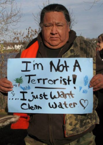 Fracking hell february 2014, Demanding clean and enough water is now being a terrorist. Take action!