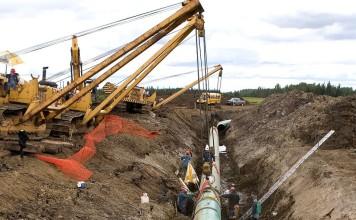 Keystone XL Pipeline (KXL) lies, Keystone XL Pipeline (KXL) myths, Keystone XL Pipeline (KXL) facts, Keystone XL Pipeline (KXL) CNN, Keystone XL Pipeline (KXL) crossfire, Keystone XL Pipeline (KXL) news and photos 2014, Crossfire - 2/4/14: Van Jones debunks three myths about the Keystone XL Pipeline (KXL) on Crossfire, Construction near Grassland, Alberta, on one of the pipelines running to the oil sands near Fort McMurray in Northern Canada