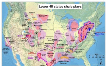 US fracking map, fracking map, hydraulic fracturing map, map Map of fracking in the USA, United States Shale gas plays, map of US shale gas plays, us fracking map