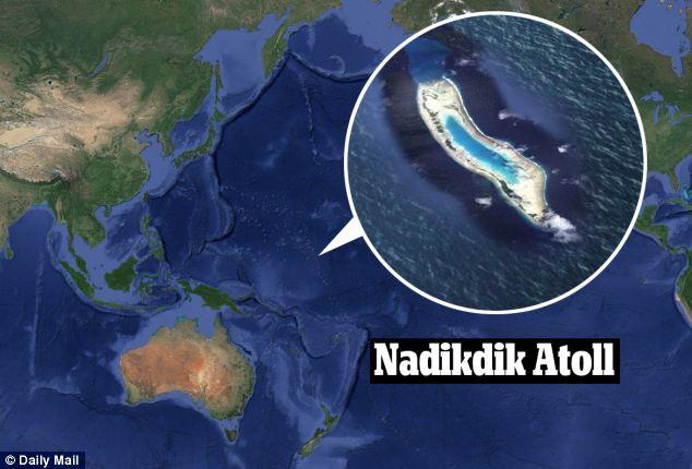 Nadikdik atoll reappears after its destruction, Nadikdik atoll reappears, Nadikdik atoll formation, Nadikdik atoll geological oddity, new island forms in Pacific ocean, new atoll forms in Pacific ocean, new atoll forms in Marschall Islands