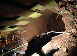 Portland sinkhole swallows a woman and her dog - February 18 2014,