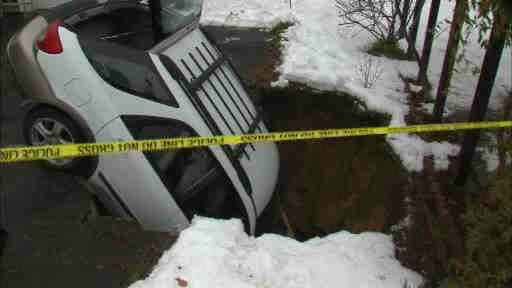 sinkhole, sinkhole news 2014, us sinkhole 2014, sinkhole car long island 2014, sinkhole car Rockville 2014, sinkhole rockville long island 2014, sinkhole rockville long island 2014 video, sinkhole swallows car in Rockville Long island february 2014, sinkhole video, sinkhole video long island, long island sinkhole swallows car, car swallowed by sinkhole in Rockville 2014, sinkhole Rockville 2014,Sinkhole swallows car in Rockville Long Island - February 2014