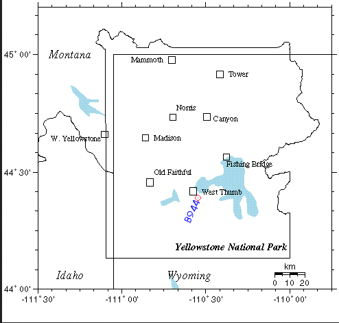 yellowstone ehanced activity february 2014, yellowstone is about to explodes - february 2014, yellowstone eruption is close february 2014, Yellowstone earthquake swarm at Borehole B944 in February 1 and 2 2014