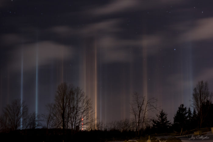 light pillar, best light pillars photo, photos of light pillars, light pillar news 2014, light pillar phenomenon february 2014, amazing light pillars photo Ontario 2014, light pillar, light pillars, light pillars photo, light pillars ontario 2014, light pillar ontario 2014 photo, pillars of light, pillars of light 2014, pillars of light ontario february 2014, february light pillar photos 2014, light pillar February 2014,These amazing light pillars were photographed by Jay Callaghan in the sky of southern Ontario on February 25 2014, amazing sky phenomenon light pillar February 2014, latest photo of light pillars, light pillars photo Ontario Canada february 2014, These amazing light pillars were photographed by Jay Callaghan in the sky of southern Ontario on February 25 2014