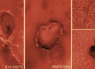 collection of hearts on Mars, collection of hearts on Mars photo, valentine's day on Mars, heart forms on Mars, Mars heart craters, heart on Mars, Mars heart craters, hearts craters on Mars, Mars hearts, mars hearts craters, heart craters on Mars, space heart craters, space craters, space heart-shaped craters, craters hearts mars, photo hearts craters on Mars, Mars heart-shaped craters, mars heart-shaped craters photo, photo of heart-shaped craters on Mars, Heart craters on Mars. Photo: NASA, Mars is full of freaking hearts everywhere!, mars heart craters photo