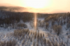 sun pillar, sun pillar video, sun pillar photo, sun pillar image, sun pillar pictures, sun pillar video, solar pillar, Sun pillar video Japan 2014, This beautiful sun light pillar was filmed around Hokkaido, Japan by Shinji Kawamura