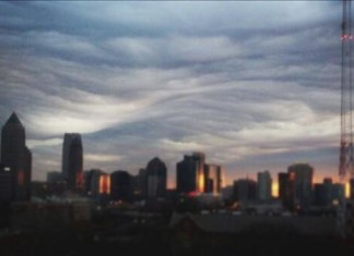 """Undulatus Uncatus, river of ther sky, Undulatus Uncatus clouds, Undulatus Uncatus photo 2014, river of ther sky photo 2014, Undulatus Uncatus photo Atlanta 2014, river of ther sky photo Atlanta 2014, Undulatus Uncatus photo atlanta georgia 2014, river of ther sky photo Atlanta georgia 2014,Undulatus Uncatus news, Undulatus Uncatus photo, Undulatus Uncatus photo atlanta, Undulatus Uncatus sightings 2014, Undulatus Uncatus usa 2014 photo, photo of Undulatus Uncatus in Georgia 2014, amazing cloud: undulatus uncatus spotted over Atlanta on February 25 2014, Rare clouds: undulatus uncatus photo, Undulatus Uncatus clouds over Atlanta February 25 2014. Photo: Twitter user Everything Georgia, Rare clouds called Undulatus Asperatus were spotted over Atlanta this morning. They're nicknamed """"River of the Sky"""""""