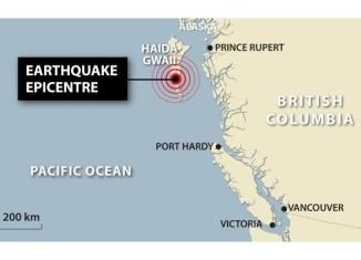 earthquake haida Gwaii 2012, map of the Haida Gwaii earthquake of 2012 soun of earthquake, earthquake sound