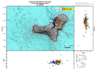 earthquake swarm canary islands march 2014, earthquake swarm, underwater volcano and earthquake swarm in El Hierro, El Hierro earthquake swarm and underwater volcano, El Hierro earthquake swarm march 2014, Map of El Hierro earthquake swarm from March 2014, el Hierro underwater volcano activity, activity of underwater volcano in El Hierro, El Hierro earthquake swarm means activity of underwater volcano, underwater volcano soon to erupt on El Hierro? El Hierro earthquake and volcano activity march 2014