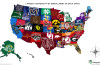 Map of the Largest Universities by Enrollment in each US State, map US universities, mmap most visited us universities, what are the largest US universities by enrollment?, largest universities of USA, what are the most populated colleges of the USA map, map of the largest college by enrollment in the USA, map of universities in the usa, map of the largest universities in the usa, us university map, university map in the usa, best university map in the usa, Did you Study There? This Map Shows the Largest Universities by Enrollment in each US State, map of largest university by enrollment in each us state. By ecollegefinder.org