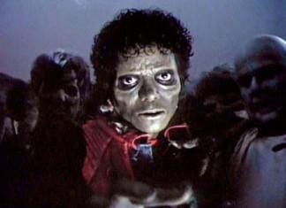 thriller MJ, michael jackson thriller, thriller Mickael Jackson, michael jackson's thriller, thriller zombie michael jackson, michael jackson zombie video thriller, zombie video thriller michael jackson, jackson zombie thriller, michaelMichael Jackson as a zombie in Thriller music video clip