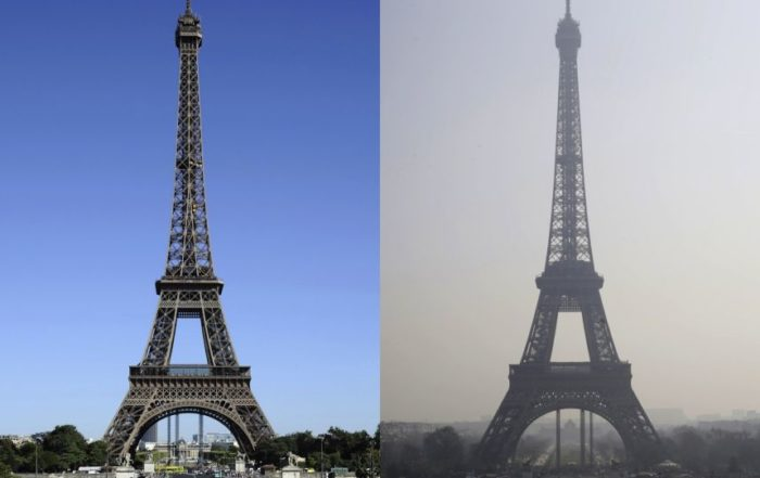 paris smog 2014 tour eiffel eiffel tower before and after. Black Bedroom Furniture Sets. Home Design Ideas