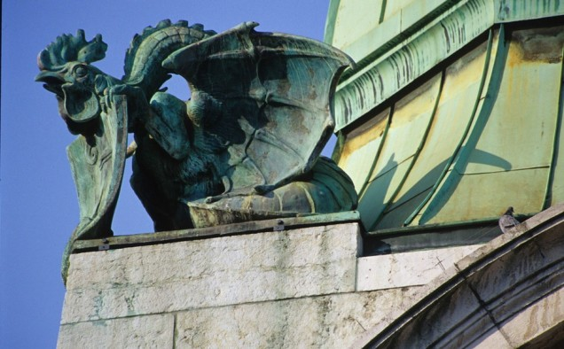 weird gargoyle photo, Gargoyles, weird Gargoyles, strange Gargoyle, Gargoyles on ancient churches look alien and out of science-fiction books , alien gargoyles, monster gargoyles, terrifying gargoyles around the world,monster gargoyle picture, dragon gargoyle photo, A strange gargoyle somewhere in Switzerland by Paul Malon