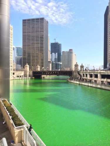 green chicago river, chicago river green, Why is the Chicago river turning green every year?, dying chicago river, Turning the Chicago river green has been unique to Chicago for over 40 years, St-patrick day chicago, chicago river turns green on St-patrick day, green chicago river on St-Patrick' day, A modern day miracle occurs each year as part of the St. Patrick's Day Parade celebration when the Chicago River turns an incredible shade of Irish green chicago St Patrick's day parade green chicago river