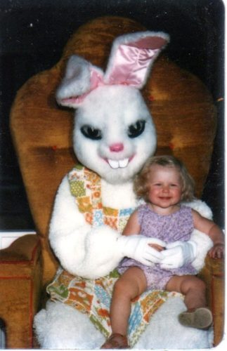 creepy and funny easter bunny photo, creepy easter bunny, creepy easter bunny image, creepy easter picture, creepy easter bunny photo