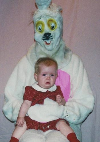 funny easter bunny photo, weird easter bunny photo, strange easter bunny photo, creepy easter bunny photo. Imgur
