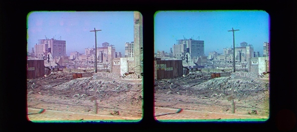 first color photos of 1906 San Francisco earthquake, first color photos of 1906 San Francisco earthquake at national Museum of American History, First color photos of 1906 San Francisco earthquake. Photo: Frederick Eugene Ives