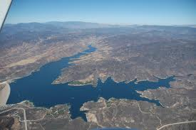drought consequences, result of drought in California: swimming ban in Castaic lake, castaic lake swimming ban because of drought, california drought: castaic lake swimming ban, swimming ban in Castaic lake, why can't we swim in Castaic lake?, castaic lake swimming 2014, swimming ban at castaic lake in 2014, summer 2014 swimming ban castaic lake, why it is not allowed to swim at Castaic Lake during summer 2014, castaic lake swimming ban due to California drought in 2014, Castaic Lake in California, Aerial photo of Castaic Lake in California by http://harmoniousessay.blogspot.ch/2014/05/castaic-lake.html