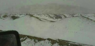 A rare view: The Acatama desert around Calama and San Pedro de Atacama covered with snow on may 24, 2014. Photo: Alerta Roja Noticias, snow acatama desert may 2014, strange phenomenon: acatama desert under snow, acatama desert snow may 2014 photo
