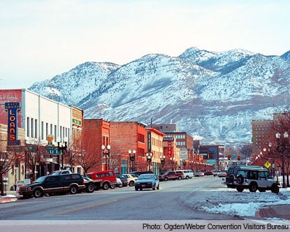 ogden utah, The city of Ogden in Utah, Ogden utah loud booms