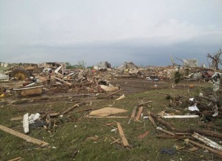 Damages after Pilger Tornadoes June 16 2014 Looks like a war field, apocalyptice tornado in Pilger nebraska june 16 2014, nebraska tornadoes june 16 2014, F5 tornadoes destroy pilger in Nebraska june 2014, pilger nebraska tornadoes june 2014, nebraska tornadoes pilger june 16 2014, tornadoes kill one and injures 15 in Pilger Nebraska on June 16 2014, killer tornado in Nebraska june 16 2014, apocalyptic video of nebraska tornadoes june 16 2014, It looks like a war field: Damages after Pilger Tornadoes June 16 2014. Photo: Twitterer: Brandon Sullivan