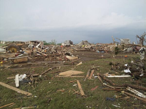 Damages after Pilger Tornadoes June 16 2014 Looks like a war field, apocalyptice tornado in Pilger nebraska june 16 2014, nebraska tornadoes june 16 2014, F5 tornadoes destroy pilger in Nebraska june 2014, pilger nebraska tornadoes june 2014, nebraska tornadoes pilger june 16 2014, tornadoes kill one and injures 15 in Pilger Nebraska on June 16 2014, killer tornado in Nebraska june 16 2014, apocalyptic video of nebraska tornadoes june 16 2014, It looks like a war field: Damages after Pilger Tornadoes June 16 2014. Photo: Twitterer:  Brandon Sullivan