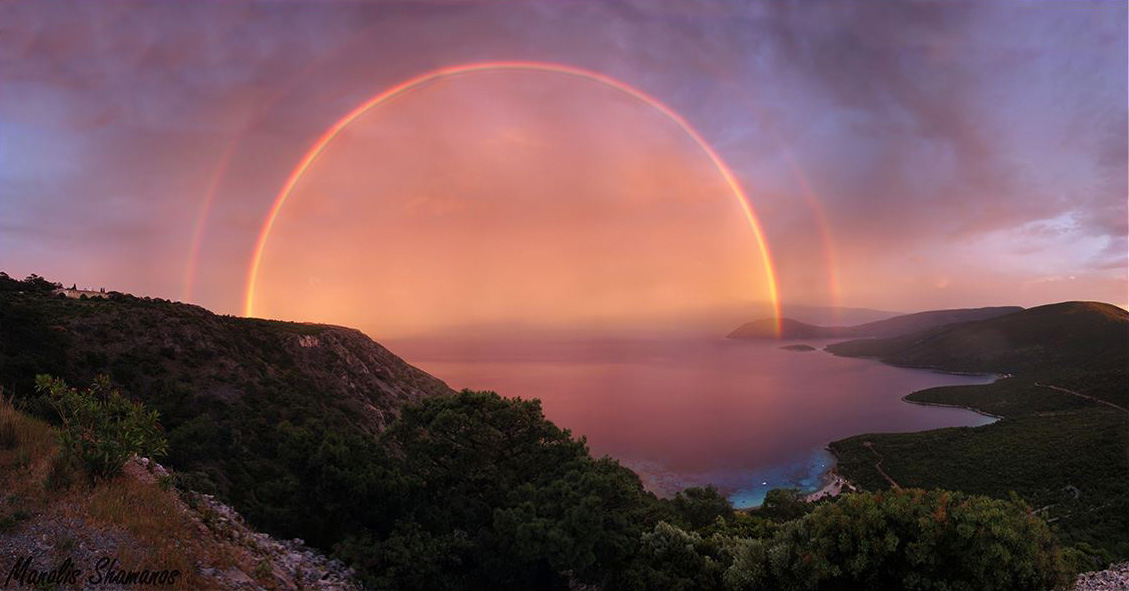 The Earth Science Picture of the Day: double rainbow greece, Double rainbow greece may 2014, Magic double rainbow over Samos, Greece. Photo: Manolis Shamanos, double rainbow, double rainbow picture, rainbow sunset, best rainbow photo, best rainbow images, best rainbow photo, best double rainbow photo, best double rainbow image, best double rainbow picture, amazing double rainbow picture 2014, The Earth Science Picture of the Day, amazing The Earth Science Picture of the Day, Double rainbow greece may 2014, Magic double rainbow over Samos, Greece. Photo: Manolis Shamanos