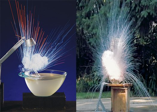 Alkali Metal Explosions, Reaction (Explosion) of Alkali Metals with Water, Alkali metals in presence of water explode and it is amazing! Photo: Mind Blowing Science, alkali metal and water, alkali metal vs water, Sodium and water (Pond), amazing chemical reaction: alkali metal and water, never mix metal and water together because it will explode, alkali metal water explosion, amazing science: alkali metal explode in presence of water, alkali metals explosion