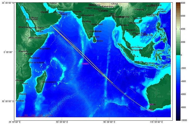 Where is MH370: MH370 impact noise recorded?, strange sounds linked to MH 370 crash, dis MH 370 crashed: low-frequency noise detected near australia by scientists could be impact noise, MN370 impact noise recorded?, Experts examining strange sound for MH370 link, Strange underwater sound recorded off australian coast coul be related to MH 370 plane, Strange underwater sound recorded off australian coast coul be related to MH 370 plane. Photo shows This map shows the estimated uncertainty region (yellow box) for the source of the signals. Magenta points and text show the locations of the various recording stations, Was 'dull oomph' detected 5,000km off Perth coast MH370 hitting the water?, Australian scientists say they have captured a 'high impact' noise that could be the doomed airliner, Researchers from Curtin University recorded underwater sounds the same day MH370 lost contact, The Malaysia Airlines plane went missing on March 8, The 'dull oomph' could have been the sound of the plane hitting water, The noise would place the plane 5,000km off Cape Leeuwin WA, Curtin's Dr Alec Duncan said information should be 'reassuring' to families, A team of Australian researchers looking into the disappearance of Malaysia Airlines Flight 370 released data on Wednesday about an unusual underwater sound recorded around the time the plane vanished