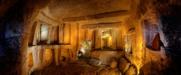 Recent studies have shown that the frequencies detected within  the Oracle Chamber in the Hal Saflieni Hypogeum have a physical effect on human brain activity.