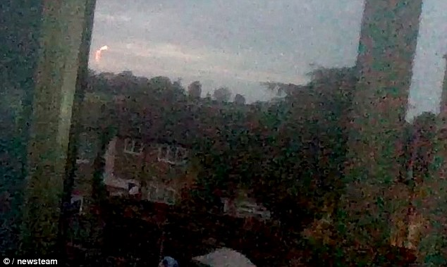 fireball, strange fireball zigzaging fireball northampton june 2014 video, strange fireball northampton june 2014 video, video of strange fireball UK june 2014, ball of fire over Northampton, northampton strange fireball june 2014, northampton zigzaging fireball june 2014 video, What is this weird fireball zigzaging in the sky over Northampton, UK?, zigzaging fireball over Northampton - June 3 2014, strange lights appearing during thunder storms called ball lightning over northampton june 2014, zigzaging lightning ball over northampton june 2014 video