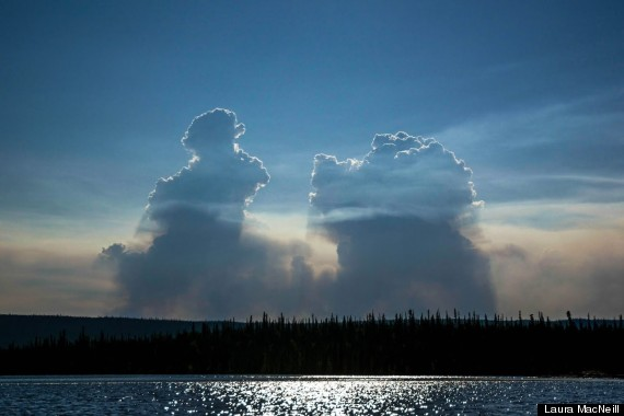 NWT fires july 2014, Clouds created by massive blazes in NWT 2014. Photo: Laura MacNeill, North West Territories, North West Territories Fire, North West Territories Fire Photos, North West Territories Fires, North West Territories Fires Photos, Northwest Territories, Northwest Territories Fire, Northwest Territories Fire Photos, Northwest Territories Fires, Northwest Territories Fires Photos, Nwt Fire Photos, Nwt Fires, Nwt Fires Photos, Canada News