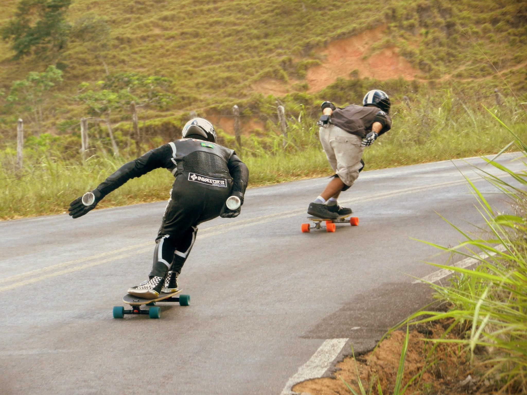 Best Longboard Video: Crazy Brazilian Longboarders Ride Close To Death During Downhill (VIDEO), Crazy Brazilian Longboarders Ride Close To Death (VIDEO), crazy longboard video, Crazy downhill longboarder, longboard, longboard video, longboard downhill video, crazy brazilian longboarders, best place to ride longboard in brazil, brazil longboard best sites, crazy longboarders, downhill longboard, downhill longboarder, Crazy downhill longboarders riding a hill at furious speed in Brazil. Photo: Absorbshop.com, longboard, extreme sport, downhill, extreme longboarders, video