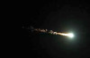 This green fireball was photographed in California on Oct. 17, 2012. Photo: NASA, Meteor And Fireball Reports Around The World: UK, USA, Brazil, Spain - June 20 To 30 2014, meteor, fireball, meteor report, meteor and fireball report uk devon, Green fireball in Devon (UK) - June 30 2014, Green fireball in Devon (UK) - June 30 2014 video, fireball report, meteor and fireball reports june 2014, meteor and fireball around the world june 2014, fireball explosion june 2014 video, fireball and meteor video june 2014, fireball video compilation june 2014, fireball spain toledo june 2014, fireball and meteor melbourne (florida) june 2014 video, A compilation of fires in the sky!, fireball and meteor reports: Huge Fireball explodes over Melbourne (Florida) - June 27 2014, fireball and meteor reports: Large meteor explosion over Brasília (Brazil) - June 27 2014, The Sky Sentinel network caught a bright meteor falling out of the clouds over Melbourne, Florida, USA on June 27 2014 at 2:15 AM, , this meteor passing by over Brasilia was caught on June 27 2014 at 5:54 AM by Carlos Bella, large green fireball crossed the sky over the West Country, Wales and the West Midlands at 03:04 BST and was caught on camera by an observatory in Devon, fire in the sky video compilation: Meteor And Fireball Reports Around The World: UK, USA, Brazil, Spain - June 20 To 30 2014, fire in the sky, meteor, fireball, fireball activity, fire in the sky video compilation, Meteor And Fireball Reports Around The World, UK, USA, Brazil, Spain, June 2014