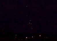 mystery booms, strange floating orbs in the sky over roanoke island july 23 2014 photo, strange light in the sky and mystery booms north c