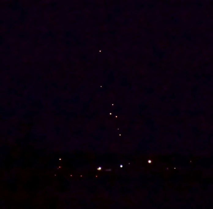 mystery booms, strange floating orbs in the sky over roanoke island july 23 2014 photo, strange light in the sky and mystery booms north carolina roanoke island july 23 2014, strange sounds, mystery orbs, mystery booms roanocke island july 2014, loud booms roanoke island july 2014, loud booms north carolina july 2014, mysterious orb roanoke island north carolina july 2014, mysterious lights in the sky july 2014 roanocke island, mysterious orbs north carolina july 23 2014 photo, A mystery boom and these weird orbs floating in the sky were observed in the sky over Roanoke Island (North Carolina). Photo: Mike Smith