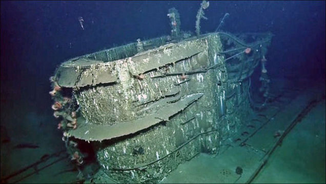 This nazi submarine was discovered off Texas coast in the Gulf of Mexico in 2001 and visited in July 2014. Photo: Ocean Exploration Trust via WFAA/ABC, nazi submarine discovered in texas, nazi submarine discovered in gulf of mexico july 2014, nazi u-boat discovered off Texas in july 2014, Nazi subs found off texas coast, Sunken Nazi Submarine Found Just Off the Coast of Texas, nazi submarine in Gulf waters, nazi submarine gulf of mexico, texas nazi submarine video, texas nazi submarine photo, discovery and visit of nazi u-boat off texas coast photo and video, nazi u-boat texas gulf of mexico july 2014, nazi submarine gulf of mexico, Sunken Nazi Sub Is Visited Off The Texas Coast, wwii, world war II sunken submarines usa, sunken nazi submarines around the world, nazi submarine found in usa