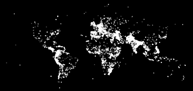 This world map by Datatracker was created by plotting out each terrorist attack since 1970. Terrfying!, terrorist attack world map, Terrorist Attack World Map, world map terrorist attack, terrorism act world map, World map created by plotting out each terrorist attack since 1970, terrorist attack world, terrorist attack map, map of terrorist attack, Terrorist Attack World Map! OMG! We can paint the map of the world by plotting out each terrorist attack since 1970. Terribly sad!, map of terrorist acts around the world, terrorism on world map