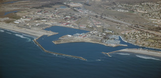 Camp Pendleton, Camp Pendleton photo, aerial view Camp Pendleton, Camp Pendleton noise advisory, loud booms Camp Pendleton, Oceanside Harbor and Camp Pendleton. Photo: geology.campus.ad.csulb.edu