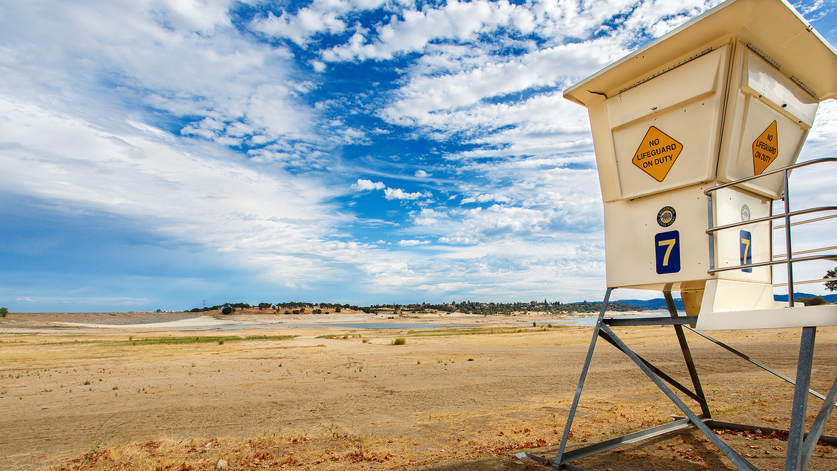 california drought, california drought photo, california drought folsom lake, california drought folsom lake photo, photo of california drought, At Beal's Point on Folsom Lake in Northern California the water has almost disappeared. We are in the midst of a severe drought and for much of the Sacramento area this is it's water source, Effects of the drought on Coyote Hill. The earth is cracked. It's almost a desert!, california, california drought, california drought explained, why california drought, meaning of california drought