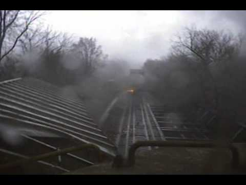 crazy video, amazing video, train meets tornado video, video of train vs tornado, tornado vs train tornado, crazy video: train meets tornado, tornado vs train, train vs tornado video, crazy video train meets tornado. The aftermath: wagon has derailed. Photo: Youtube video