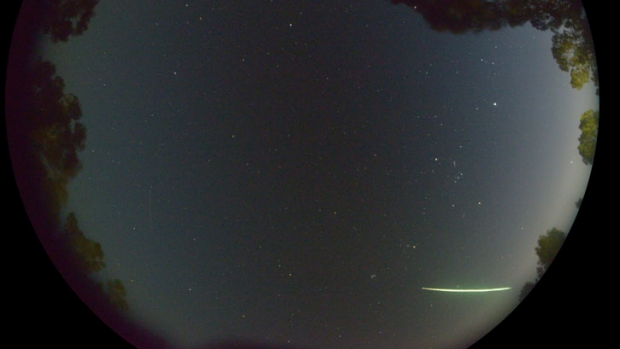 The green blue fireball in Perth sky on August 4 2014. Photo: The Desert Fireball Network, fireball, meteor, fireball Perth august 2014, fireball alabama video, fireball perth, fireball perth august 2014, fireball alabama august 2014, fireball meteor perth and alabama, alabama fireball august 2014 video, alabama fireball august 2014, perth fireball august 2014 photo