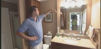 gorham woman struck by lightning, gorham woman struck by lightning in bathroom, gorham woman struck by lightning in home, lightning hits woman in bathroom in maine, gorham woman hits by lightning in her home in Maine, This lucky Gorham woman was struck by a lightning during storm in Maine. Photo: Video