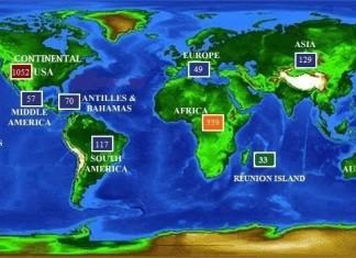 map of every shark attack since 1580, shark attack wold map, interactive shark attack map, This map of EVERY reported shark attack worldwide since 1580 is very informative, interactive map of every single (reported) shark attack worldwide since 1580, map of EVERY Reported Shark Attack, 1580-2013 Map of World's Confirmed Unprovoked Shark Attacks (N=2,665)