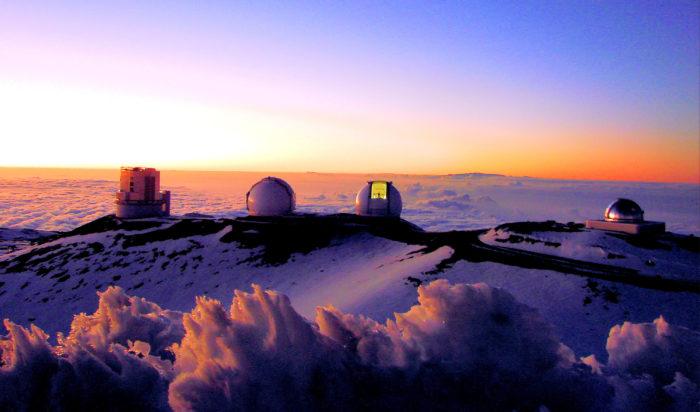 Mauna Kea, Mauna Kea volcano, Mauna Kea tallest volcano in the world, Mauna Kea is the tallest volcano on Earth and its summit hosts the world's highest observatory. Photo: Wikipedia, largest volcano, largest volcano around the world, world largest volcano, Which Volcano is the World's Largest? Three volcanoes share this title. Tamu Massif the most massive. Mauna Kea is the tallest. Ojos del Salado is the highest.