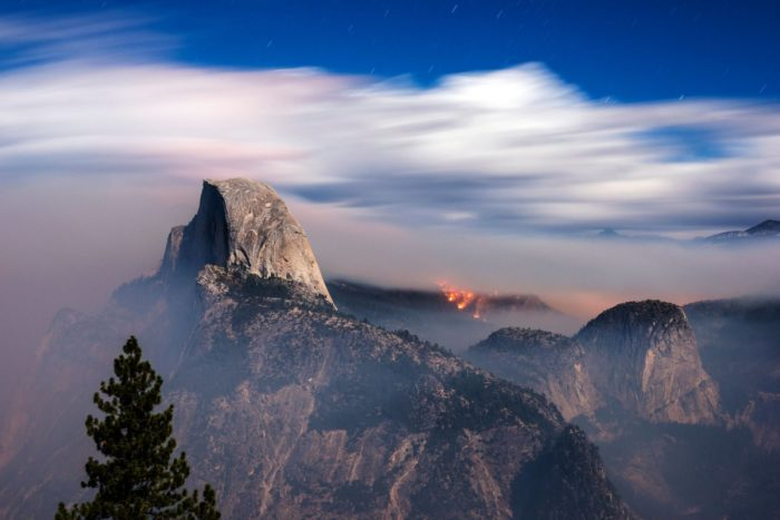 Meadow Fire, meadow wildfire, meadow fire photos, photos of meadow fire, apocalyptic photo of yosemite national park wildfire, Yosemite National Park Wildfire, Apocalyptic images of meadow fire in Yosemite national park, fire, drought, california, yosemite national park