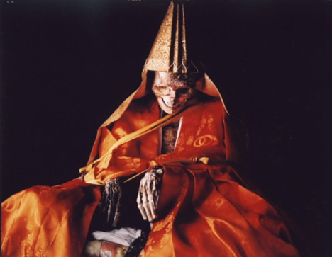 Self-mummified monks, living mummies, sokushinbutsu, japanese Self-mummified monks, japanese living mummies, sokushinbutsu, Self-mummified monks - living mummies - sokushinbutsu, buddhist monk in quest for nirvana, The so called living mummies are Japanese buddhist monks mummifying themselves in quest for nirvana.
