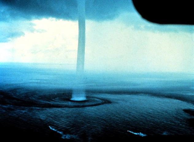 Waterspouts, water tornado, ocean tornado